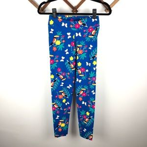 Hanna Andersson Play Active Leggings Toucan Floral